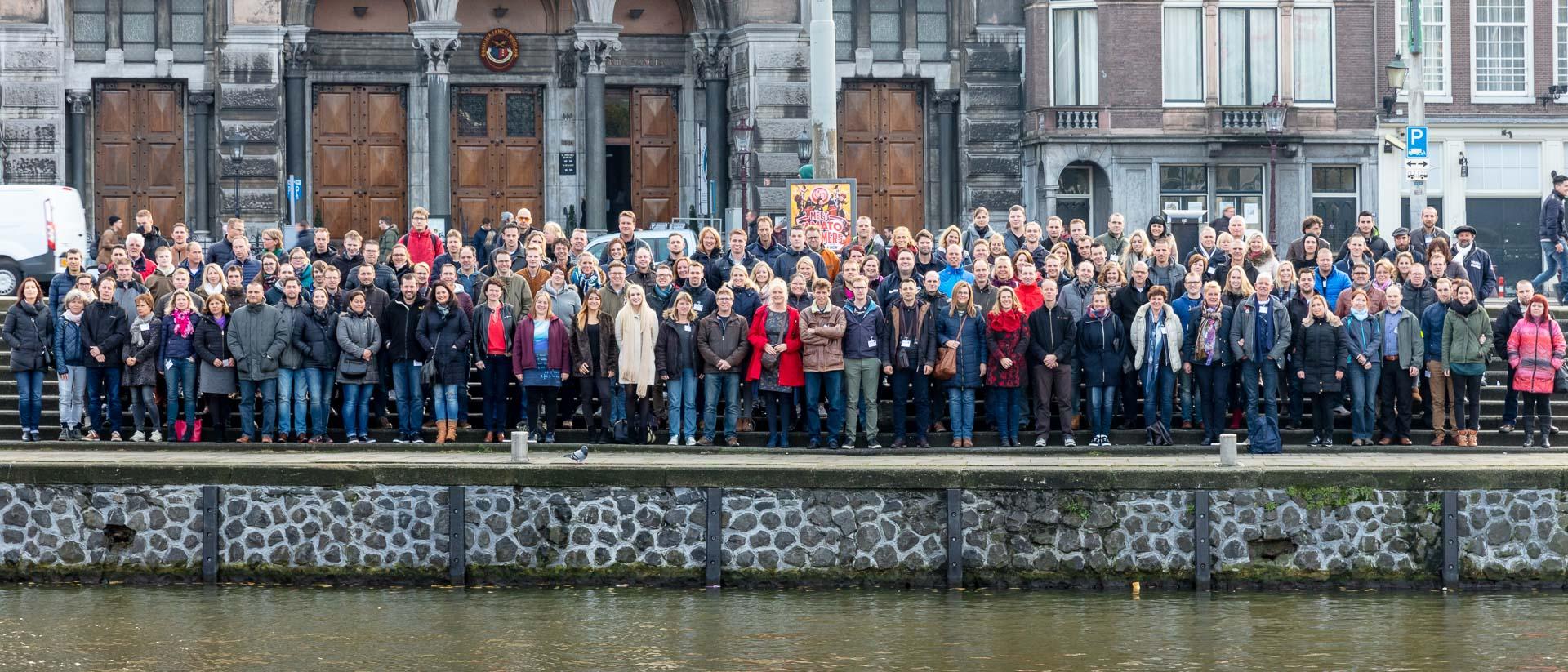 Groepsfoto zakelijk Amsterdam