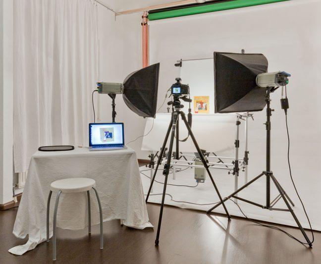 studio voor productfotografie Erik Verheggen Fotografie Amsterdam