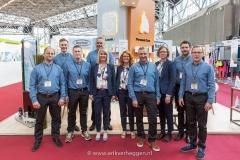 Team photo Nopa Nordic at RAI Amsterdam